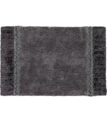 "avanti braided medallion cotton 20"" x 30"" colorblocked bath rug bedding"