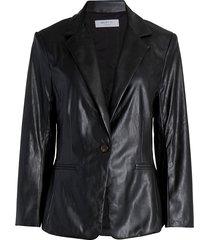 bailey 44 women's adelaide leather blazer - black - size 10