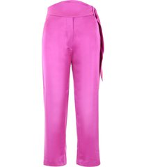 nanushka high-waisted trousers