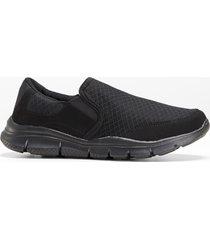 scarpe senza lacci con youfoam (nero) - bpc selection