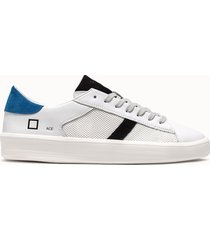 d.a.t.e. sneakers ace net colore bianco