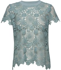 3168 - kaya t-shirts & tops short-sleeved blå sand