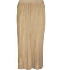 elisabetta franchi celyn b. pleated skirt with high waist