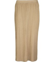elisabetta franchi pleated skirt with high waist