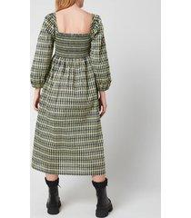 baum und pferdgarten women's aquina dress - multi - eu 36/uk 8