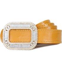 cinturon ivette amarillo carven