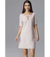 sukienka trapezowa mini