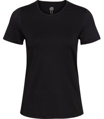 iconic tee t-shirts & tops short-sleeved svart casall