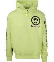barrow logo print hoodie