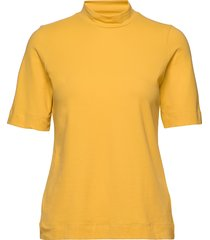 fondaiw turtleneck ss t-shirts & tops short-sleeved gul inwear