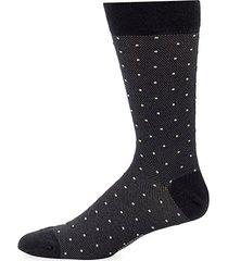 cotton polkadot print socks