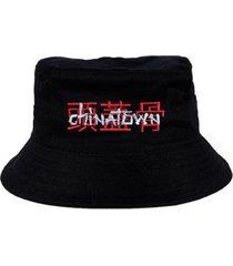 chapéu bucket skull clothing chinatown - masculino