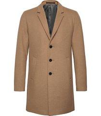jjemoulder wool coat sts wollen jas lange jas bruin jack & j s