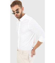 camisa blanco nautica