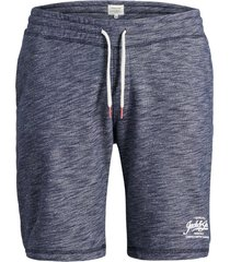 jack & jones plus size sweatshorts melange navy