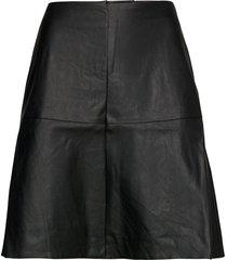 nubelen skirt kort kjol svart nümph