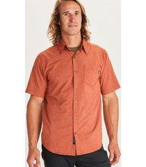 camisa aerobora ss naranja marmot