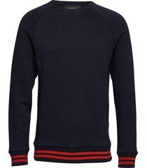 m season c sweat-shirt tröja blå peak performance
