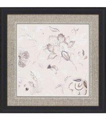 "paragon capri floral ii framed wall art, 37"" x 37"""