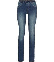 jeggings di jeans elasticizzato (nero) - rainbow