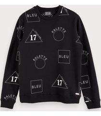 scotch & soda all-over printed sweatshirt
