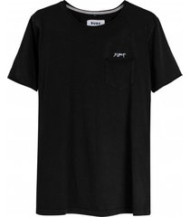 koszulka pocket tee burnt black