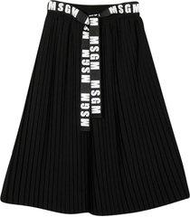 msgm black skirt