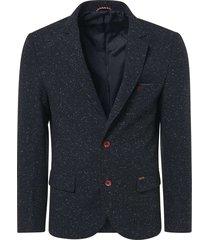 blazer, tweed with neps, fully line night