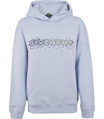 givenchy embellished logo hoodie