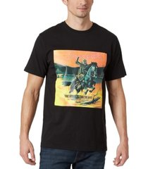 wrangler men's vintage style pony express graphic t-shirt