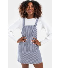 olivian overall dress - ivory