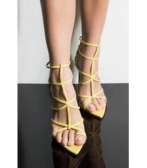 akira cape robbin skip a heart beat sexy stiletto sandal