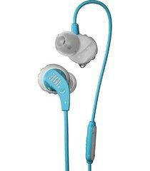 audifonos deportivos jbl endurance run azul claro