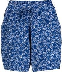bermuda in felpa (blu) - bpc bonprix collection