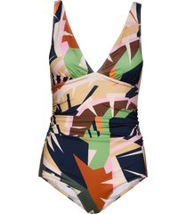 artygz swimsuit baddräkt badkläder multi/mönstrad gestuz