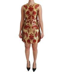 lurex jacquard midi slim jurk