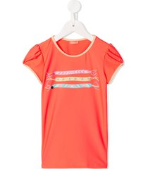 sunuva braided bracelet t-shirt - orange