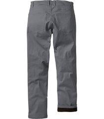 pantaloni termici elasticizzati regular fit (grigio) - bpc bonprix collection