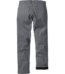 pantaloni termici elasticizzati regular fit (grigio) - bpc bonprix collection