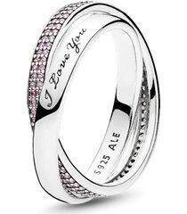 "anel doces promessas - ""i love you"" (eu te amo)"