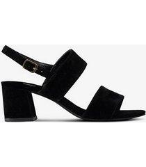 sandalett med blockklack