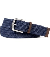 polo ralph lauren men's stretch waxed belt