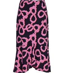 maalia knälång kjol rosa tiger of sweden
