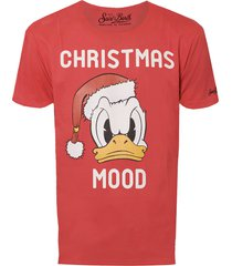 christmas mood dondal duck t-shirt - disney special edition®