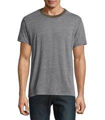 alternative men's eco crewneck t-shirt - eco grey camo - size xl