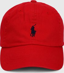 gorra rojo-azul polo ralph lauren