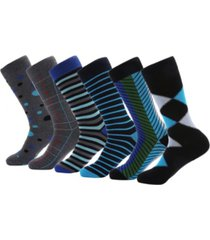 mio marino men's orthodox crew dress socks pack of 6