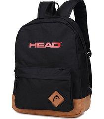 mochila negra head