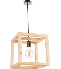 lampa wisząca loft handmade eko korbe maxi