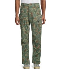 g-star raw men's rovic airforce relaxed stretch-cotton pants - sage - size 33 30